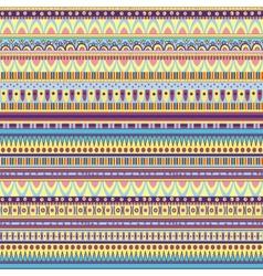 ethnic geometric pattern vector image