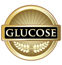 Glucose gold label vector
