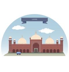 Lahore vector