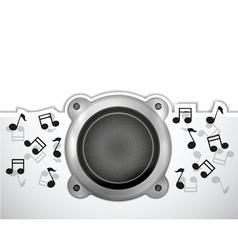 Large Speaker vector image