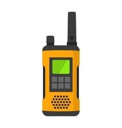 Radio set transceiver with antena receiver vector