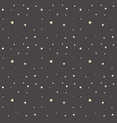 space stars pattern vector image