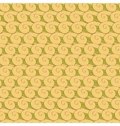 Vortex whorl seamless pattern vector