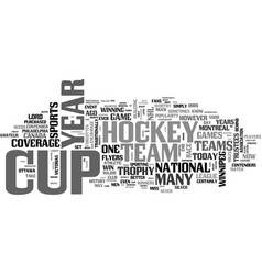 Who s tops in hockey and who s not text word vector