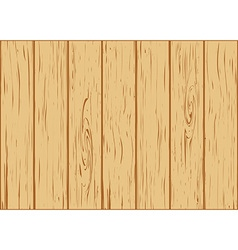 Wooden background from boards vector