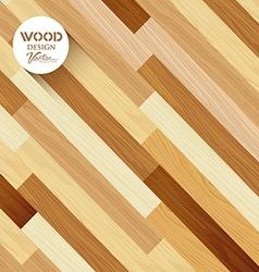 Wood floor colored striped oblique concept vector image vector image