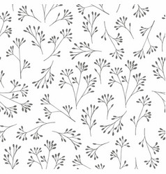 A delicate black and white pattern with small vector