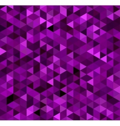 Abstract purple triangle background vector