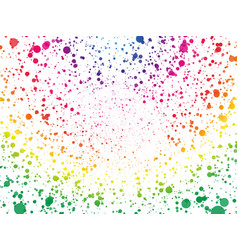 abstract spectrum color dots wallpaper vector image
