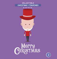 Christmas characteravatar vector