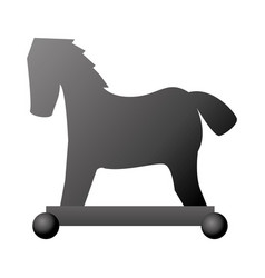 Isolated hacker horse virus vector