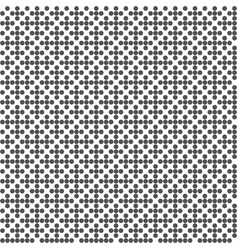 abstract geometric seamless pattern dotted black vector image