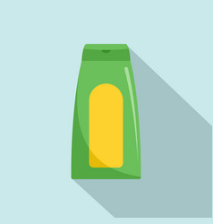 aloe gel icon flat style vector image