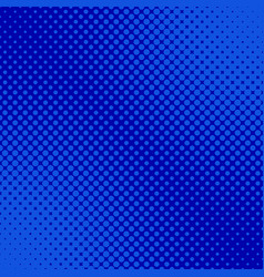 Blue retro halftone dot pattern background vector