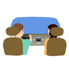 Depicting a driver and a vector