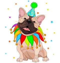 French bulldog Birthday vector