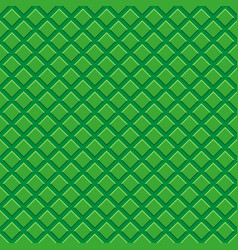 seamless pattern green tiles vector image