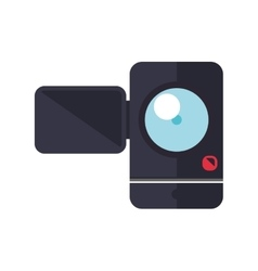 Videocamera gadget technology photography icon vector