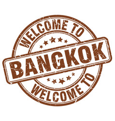 Welcome to bangkok vector