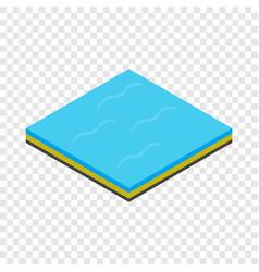 sea isometric icon vector image vector image