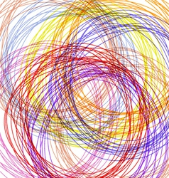 hand drawn colorful background vector image