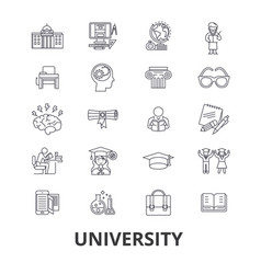university science students education vector image vector image