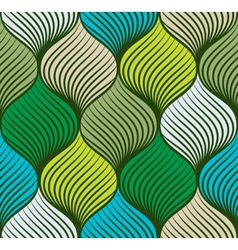 Abstract braid seamless pattern vector image