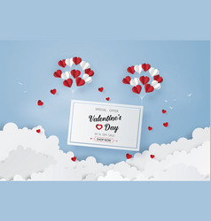 concept of valentines day vector image