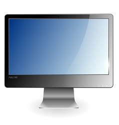 Full HD Monitor vector