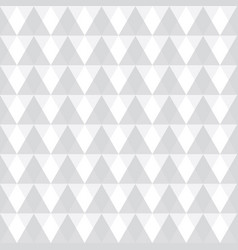 light grey geometric triangles seamless vector image