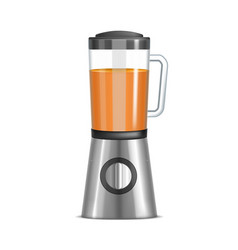 realistic 3d kitchen blender vector image