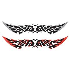 Tattoo W B three vector