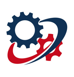 icon for process mechanism vector image