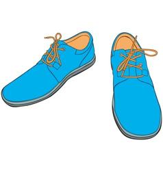 Cartoon Shoes vector image vector image