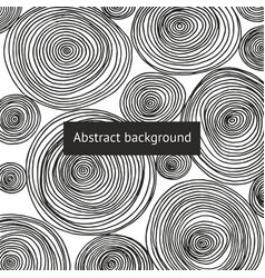 abstract background with round patterns vector image