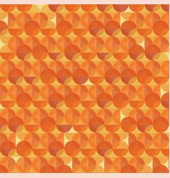 Abstract orange modern geometric background vector