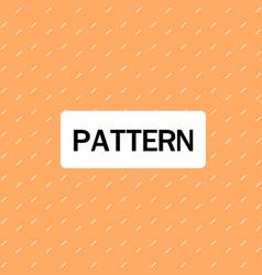dashed lines pattern orange background imag vector image