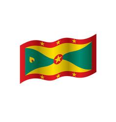 Grenada flag vector