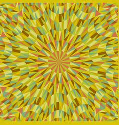 abstract dynamic circular tile pattern mosaic vector image