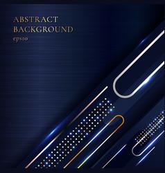 Abstract elegant metallic geometric golden vector