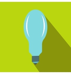 Bulb icon in flat style vector image