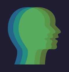 Concept different personalities capabilities vector