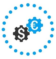 Financial Mechanics Icon vector image