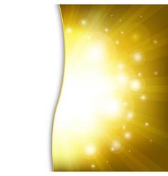 Golden New Year Card vector