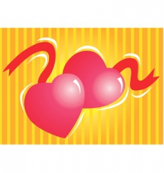 Hearts vector