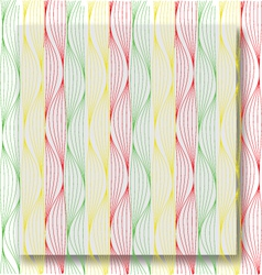 Lines waves vector