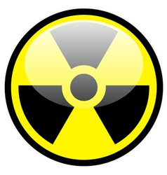radiation symbol vector image