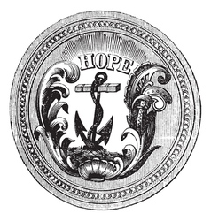 Rhode Island State Seal vector image