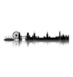 Skyline london city vector