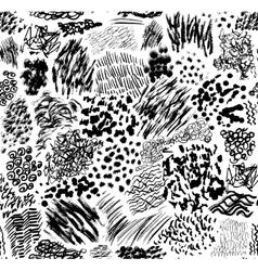 Strokes pattern vector